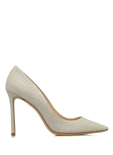 Jimmy Choo Stiletto Ayakkabı Beyaz